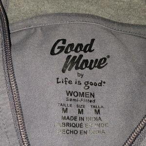 Life Is Good Tops - Good Move by Life is Good Semi-fitted Hoodie
